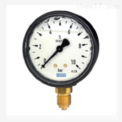 波登管压力表充液型塑料外壳113.13
