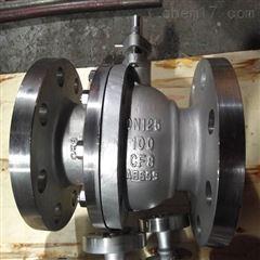 Q41H-100P -125不锈钢100压球阀