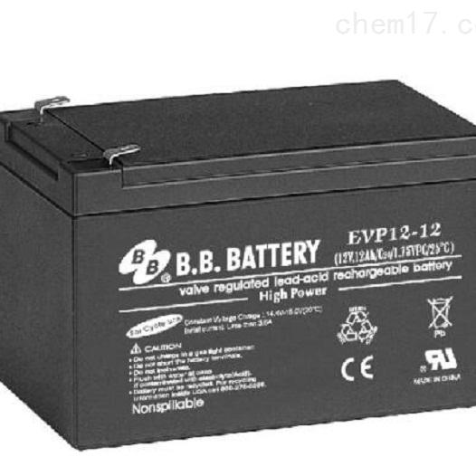台湾BB蓄电池EVP12-12销售报价