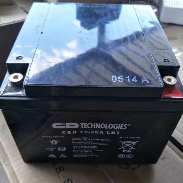 大力神蓄电池CD 12-26A LBT全新报价