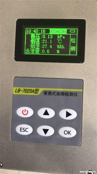 便携手持式油烟检测仪