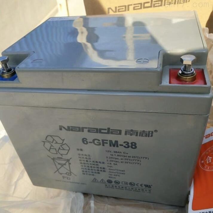 南都蓄电池6-GFM-38区域代理选购