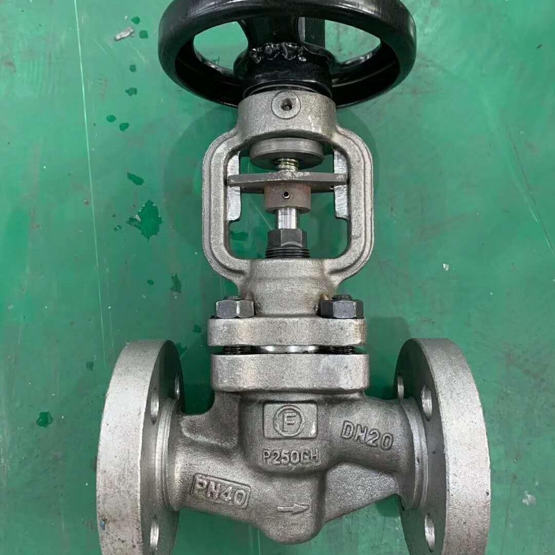 J41H钢制截止阀质量保障