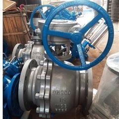 Q341H-16C-200涡轮碳钢硬密封球阀