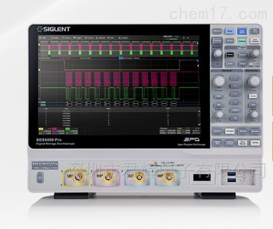 鼎阳高分辨率数字示波器SDS6104 H12 Pro