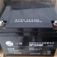 12V24AH三瑞蓄电池CP12240F品牌报价