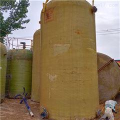 30立方 50吨50吨玻璃钢盐酸罐,二手卧式30立方储罐