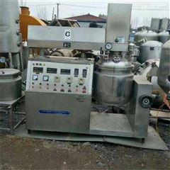50L 100L 1000L二手100L真空均质乳化机,1吨乳化罐