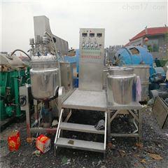 50L 100L 1000L二手50L真空均质乳化机1吨不锈钢304乳化罐