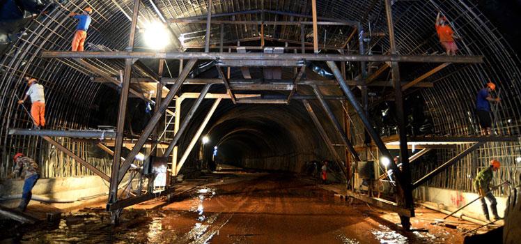 申貝隧道施工有毒有害氣體監測方案