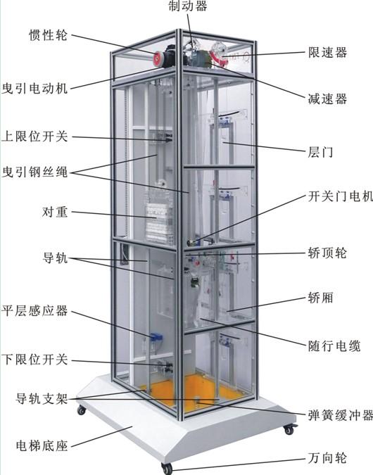 电梯对重架图纸