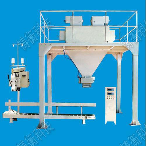 120——800袋/小时 控制方式:可编程序控制器(plc) 双斗定量包装秤