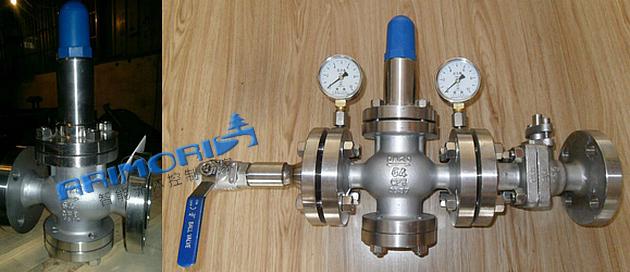 泵阀类 流体阀 高压水减压阀  y42x/f型属于直接作用弹簧活塞式的空气图片