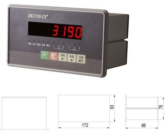 XK3190-C8+显示器