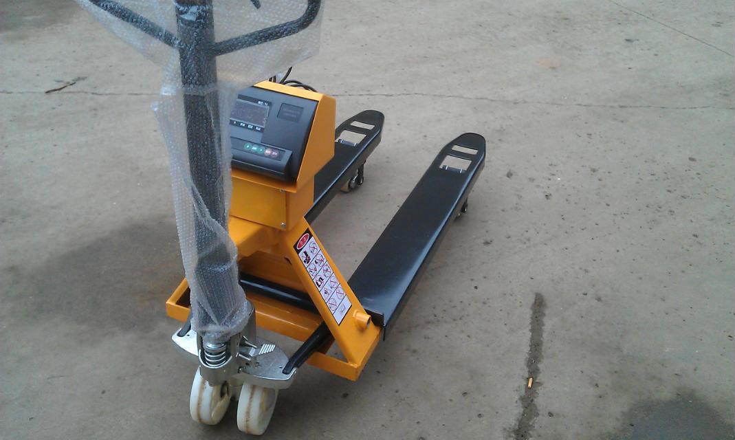 液压升降手动搬运车 4只英国进口(kla)型专用称重传感器 专用称重图片
