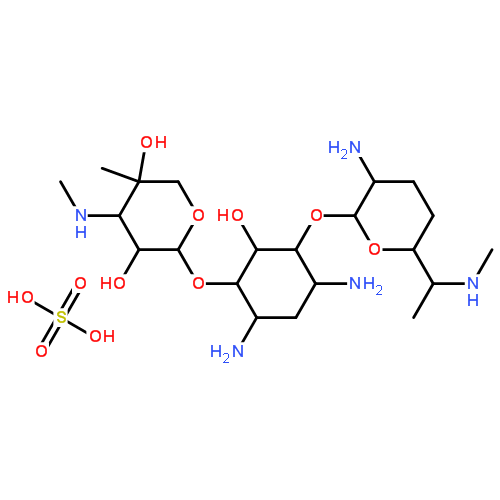 1405-41-0,硫酸庆大霉素