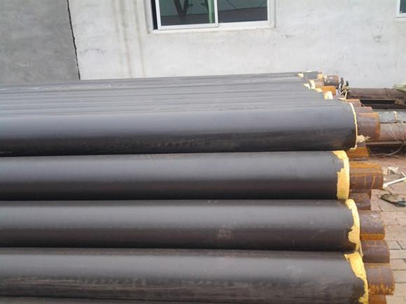 聚氨酯直埋保温管采用高密度聚乙烯