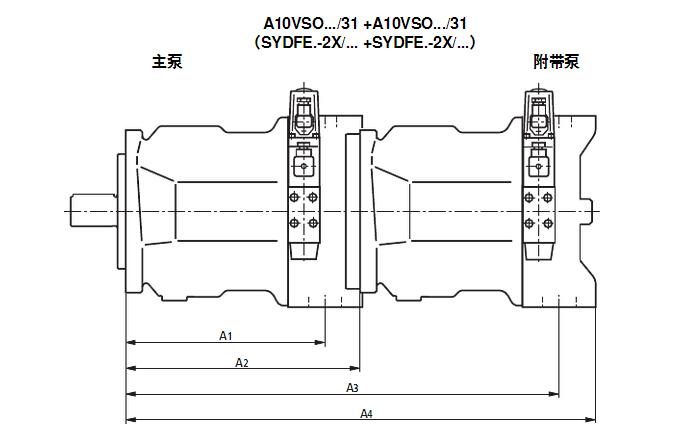 力士乐泵/rexroth柱塞泵机械和液压参数