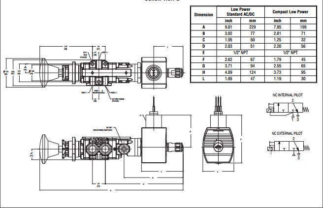 asco电磁阀/asco两位五通电磁阀技术原理