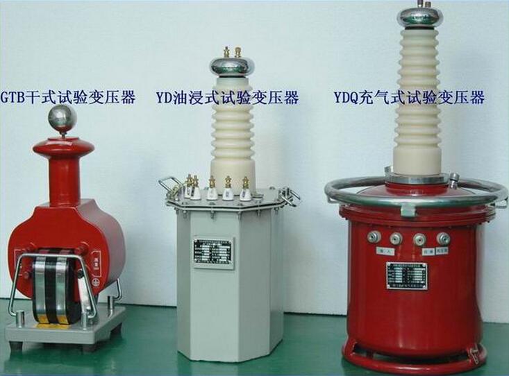 gtb系列干式试验变压器使用方法及注意事项