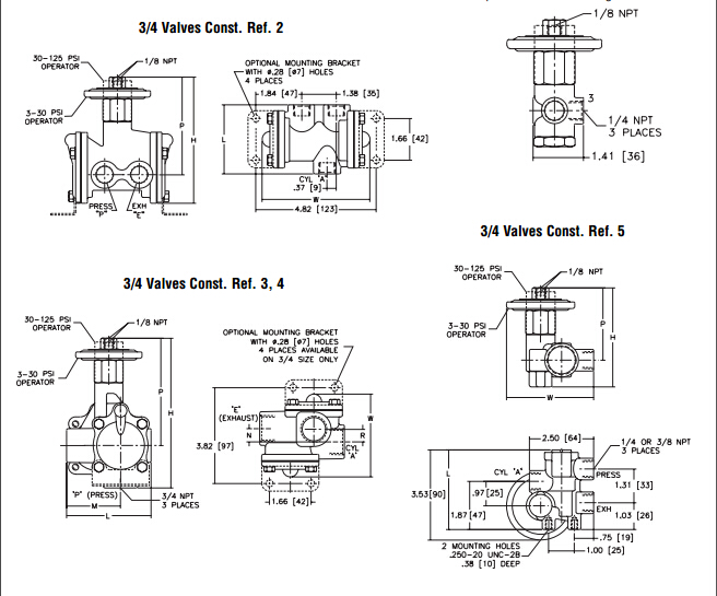 asco电磁阀两位三通阀技术选型原理图片