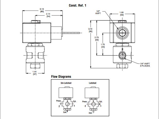 asco电磁阀两位三通电磁阀选型原理
