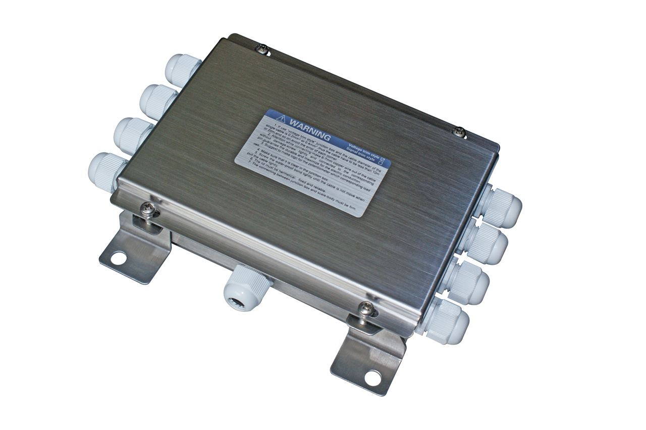 汽车地磅接线盒安装方法