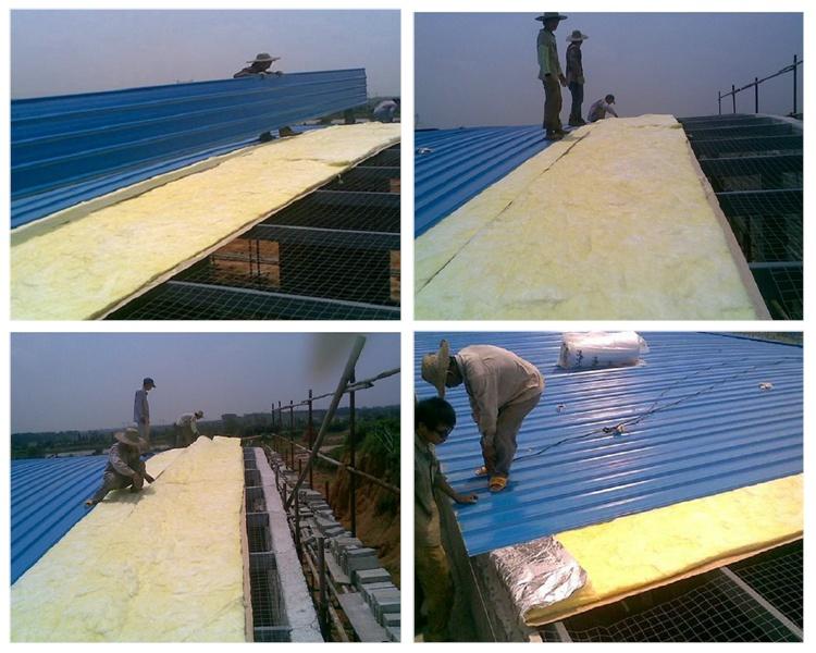 南昌钢结构保温棉,屋面隔热棉,a级防火棉,铝箔玻璃棉毡