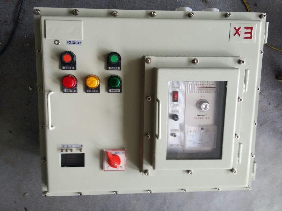 bqd53防爆星三角启动器3回路启动器4回路控制