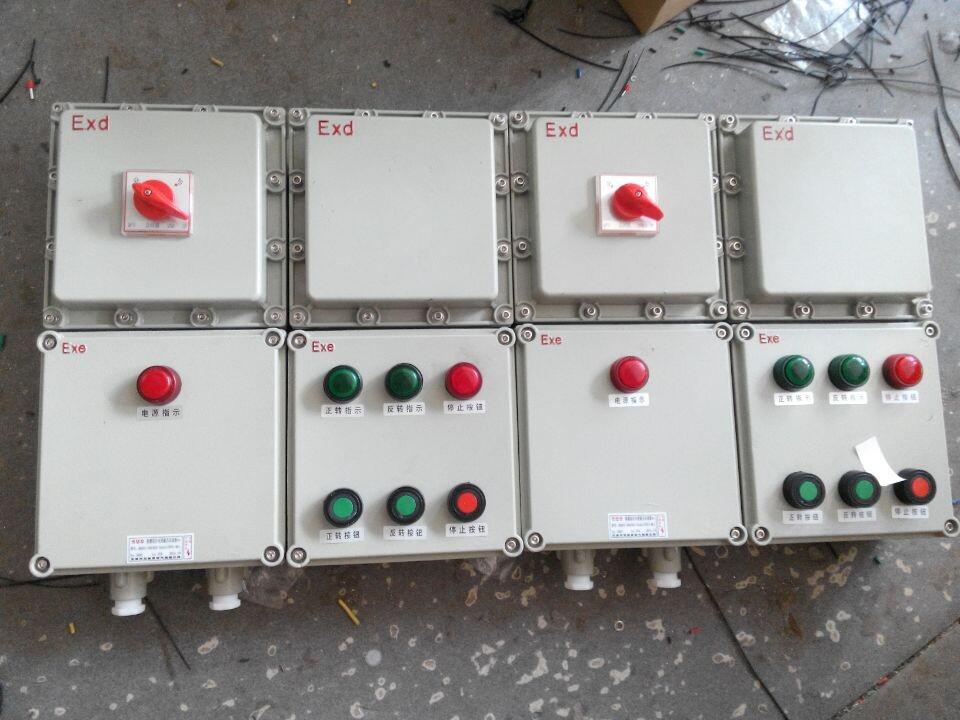 2kw)防爆磁力启动器(0.75kw)电机