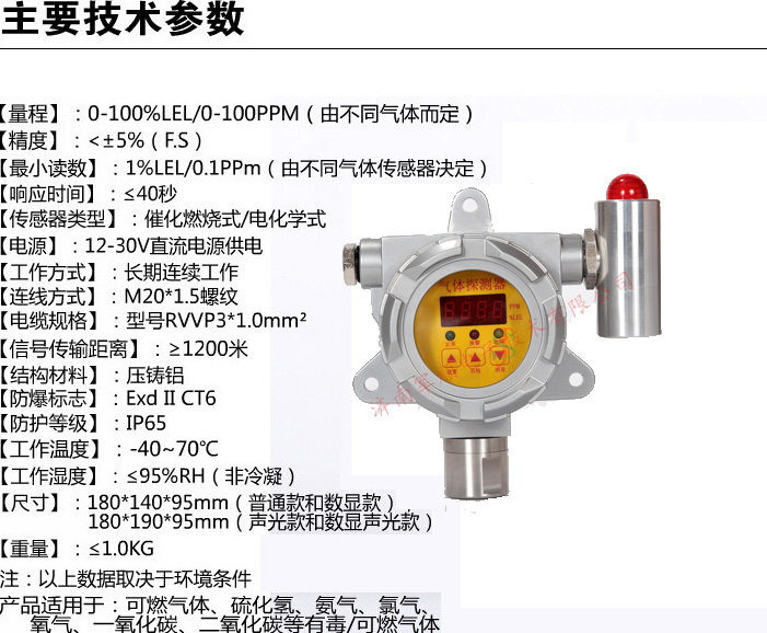 js-ga600-燃气泄漏报警器西安陕西
