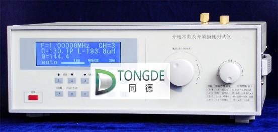 jdc-110型介电常数及介质损耗测试仪