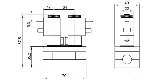力士乐三位五通电磁阀安装方式系列581图片