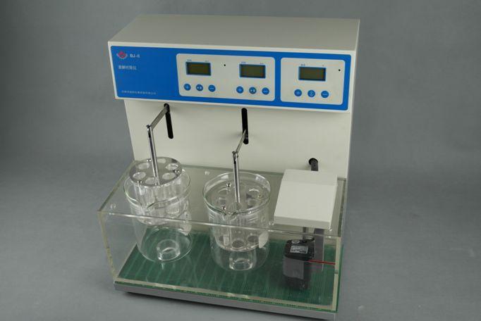 仪器自动控制水浴温度为37.0℃(药典规定).