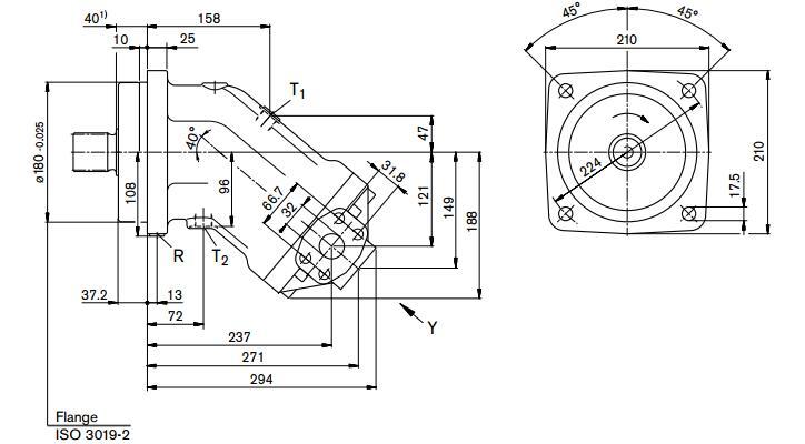 rexroth力士乐柱塞泵a2fo与斜盘式相比,rexroth力士乐柱塞泵a2fo工作