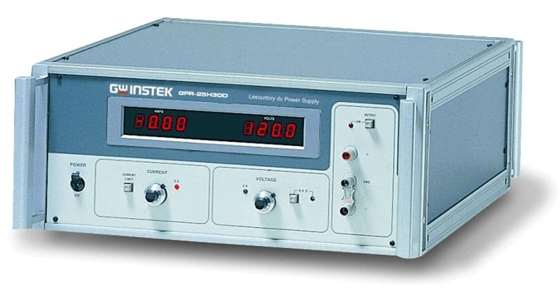 250V3A单路数显直流稳压电源GPR 25H30D图片