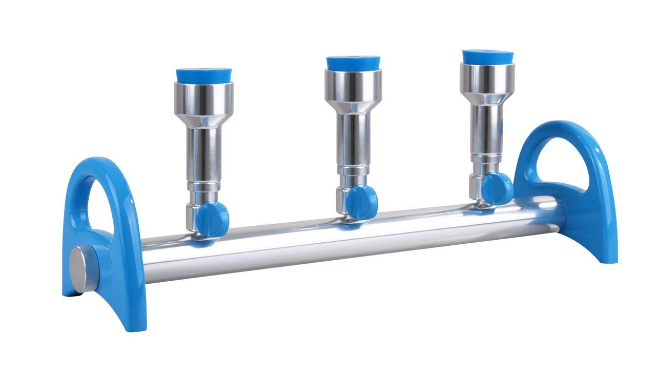 【洛科仪器】MultiVac 310-MS 3孔铝制过滤器
