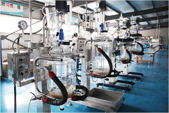 玻璃反应釜_双层玻璃反应釜_单层玻璃反应釜