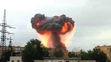 液氮罐爆炸
