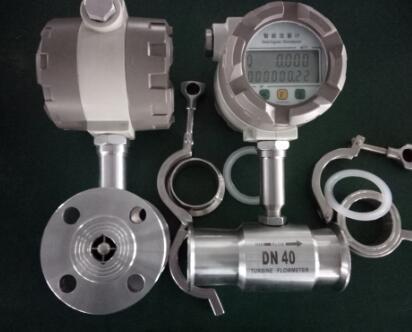 设计的新型流量计显示仪表,与脉冲信号输出的涡轮流量传感器配套组成.