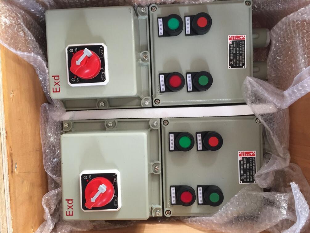 防爆电机控制箱