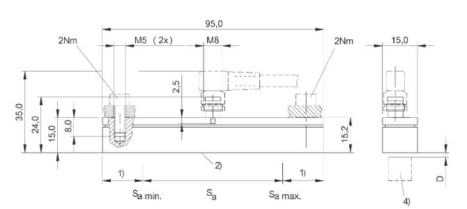 常用位移传感器以模拟式结构型居多,包括电位器式位移传感器,电感式
