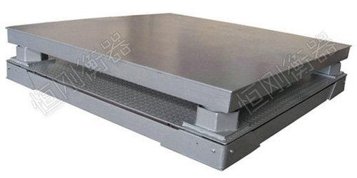 钢材缓冲电子地磅秤