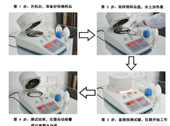 塑膠原料水分測試儀
