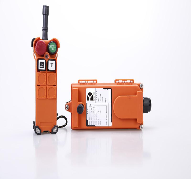 单梁起重机遥控器 2路单速德克f21-2s工业无线遥控器
