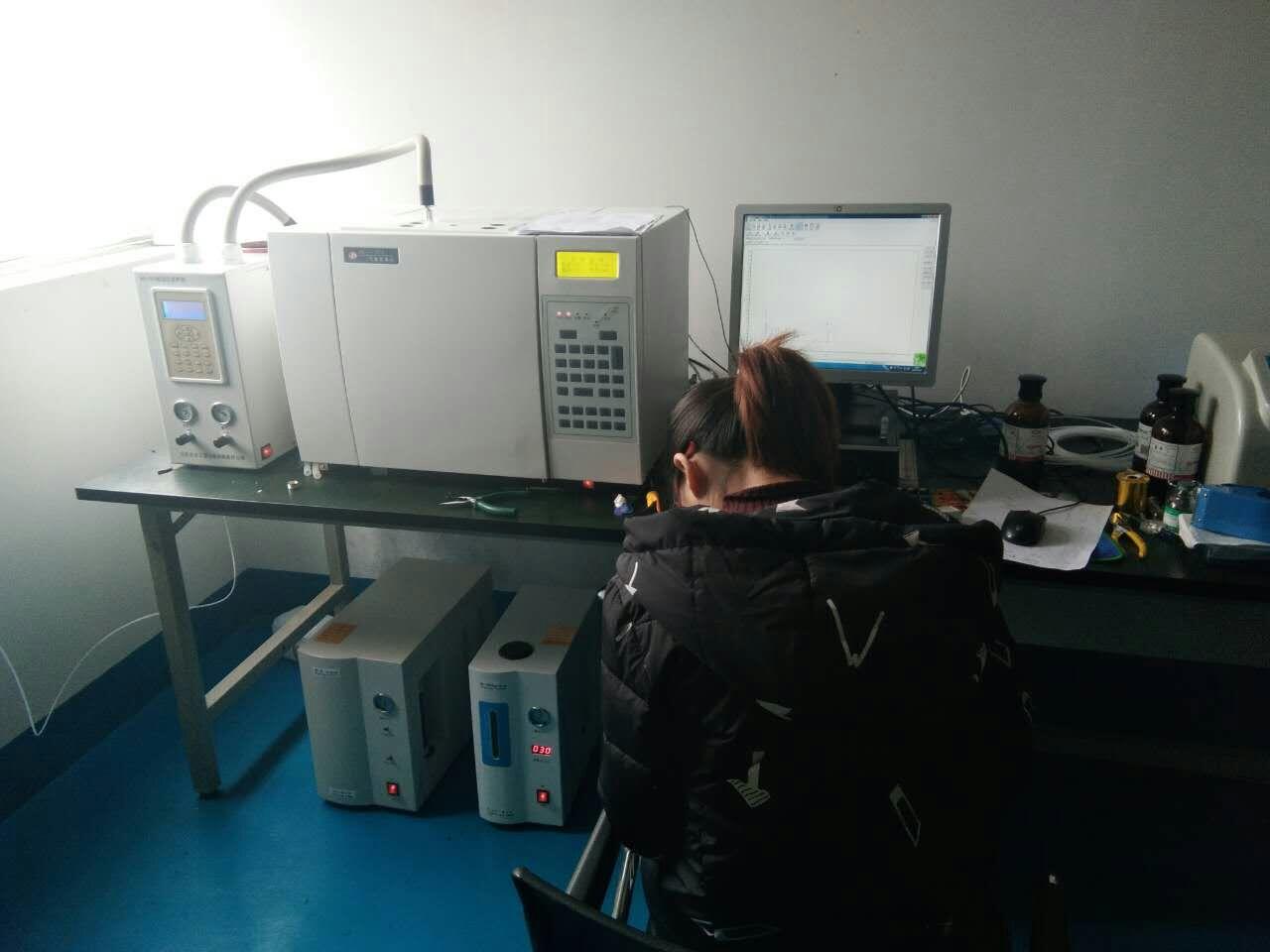山东金普完成成都美益达气相色谱仪的安装调试工作
