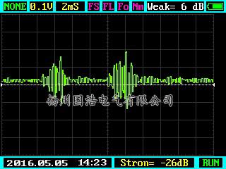 超声波测试图谱