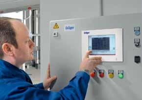德尔格RVP3900中央控制报警系统