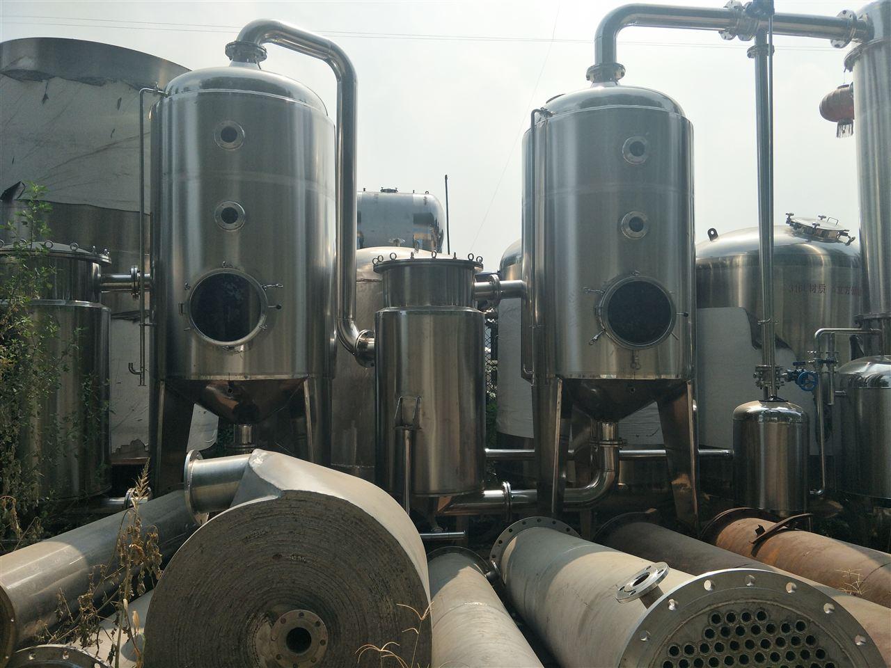 二手三效浓缩蒸发器最低价格