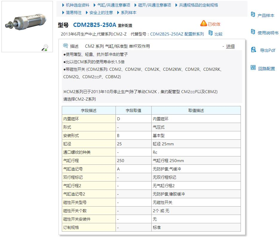 CDM2B25-200Z-A93L快速資料